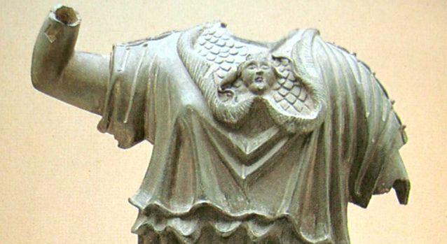 Hallazgo de Minerva en Peregrina