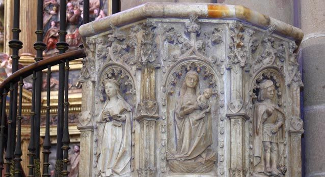 Púlpito del altar mayor